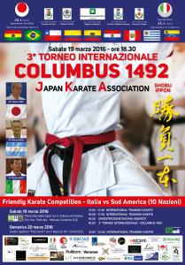 Poster Karate Columbus 2016
