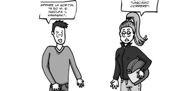 LA VIGNETTA – Gli autovelox e quei cartelli sulle torrette