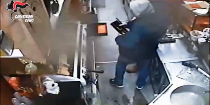 LURATE – Rapina ai danni di un bar, due arresti dei carabinieri