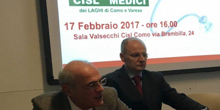 CISL – Cesare Guanziroli è il nuovo segretario generale di Cisl Medici dei Laghi