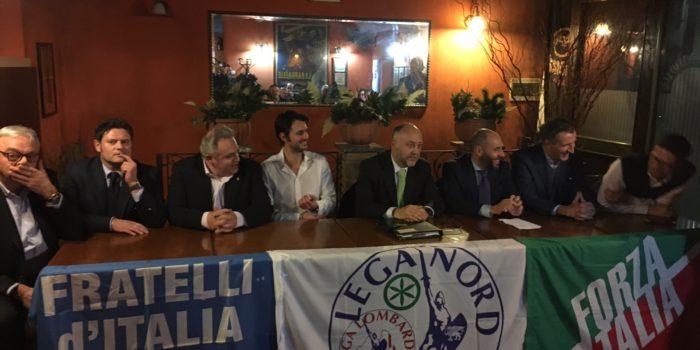 ELEZIONI – Il centrodestra presenta il suo candidato: è Edgardo Arosio