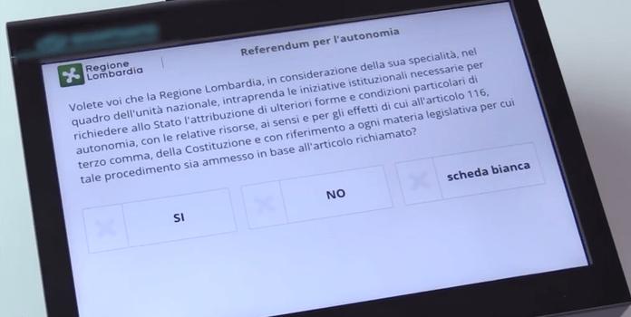 """REFERENDUM – 12mila canturini per l'autonomia, Como """"assenteista"""" come il milanese"""