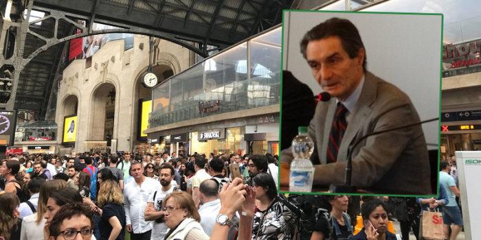 """TRENI – Il presidente Fontana: """"Mi vergogno, ai pendolari chiedo pazienza"""""""