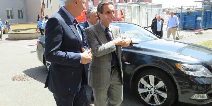 CANTÙ – La Regione in visita al nuovo blocco del S. Antonio Abate