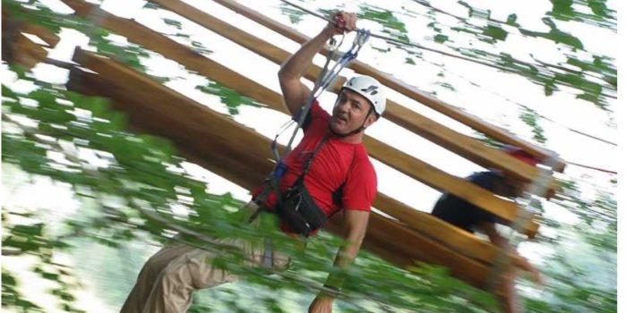 LECCO – I percorsi del Parco Avventura ancora aperti nelle domeniche di settembre