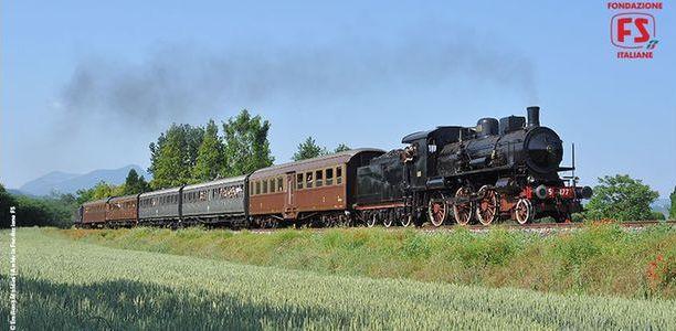 LARIO EXPRESS – Arriva il treno d'epoca tra Milano, Como e Lecco