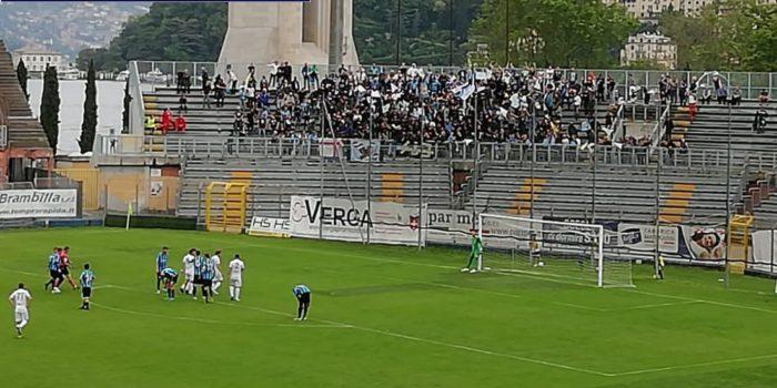 CALCIO – Il Como recupera tre gol ma non basta, in semifinale ci va il Lecco