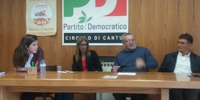 CANTÙ – La senatrice Malpezzi interrogata sulla scuola dal Pd canturino
