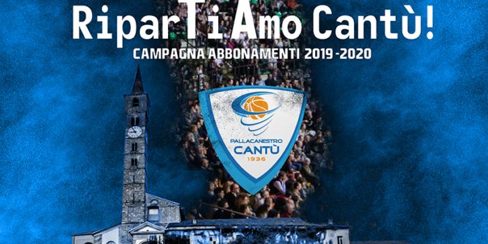 BASKET – RiparTiAmo Cantù! La campagna abbonamenti della rinascita
