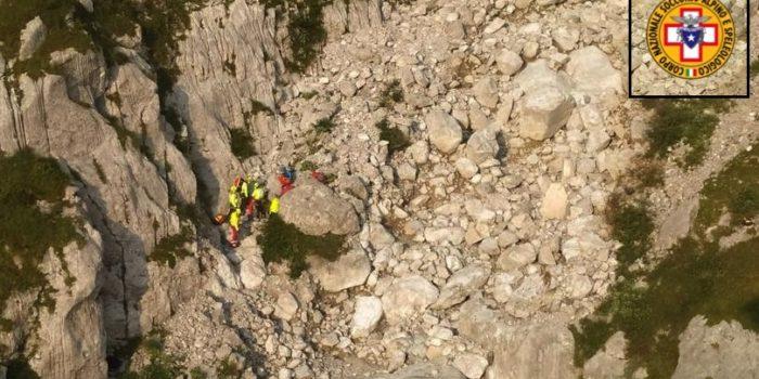 TRAGEDIA – Caduta fatale sulla Concarena per un alpinista canturino