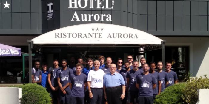 PALLACANESTRO CANTÙ – A Chiavenna per il ritiro aspettando la Virtus Bologna