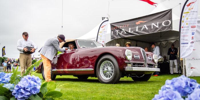 """MOTORI – In California le auto nostrane che hanno fatto la storia: """"Concorso Italiano"""""""