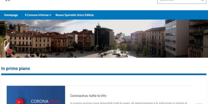 COMUNE – Nuova veste per il sito. Più spazio alle news e sezione servizi online