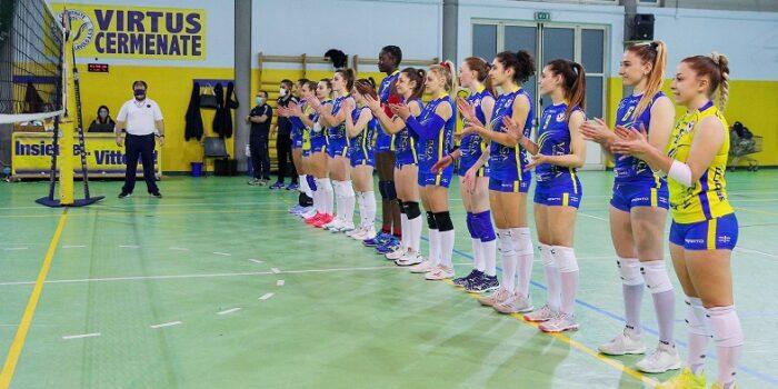 VOLLEY – Serie C Femminile, col Lazzate primo stop per Cermenate