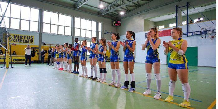 VOLLEY – Serie C Femminile, la Virtus Cermenate batte Rho 3-0