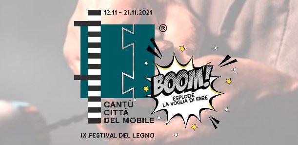 CANTÙ – Dal 12 al 21 novembre esplode in città il Festival del Legno