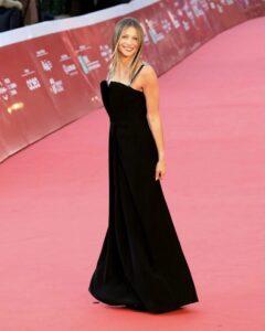 RED CARPET – La canturina Francesca La Gala alla Festa del cinema di Roma